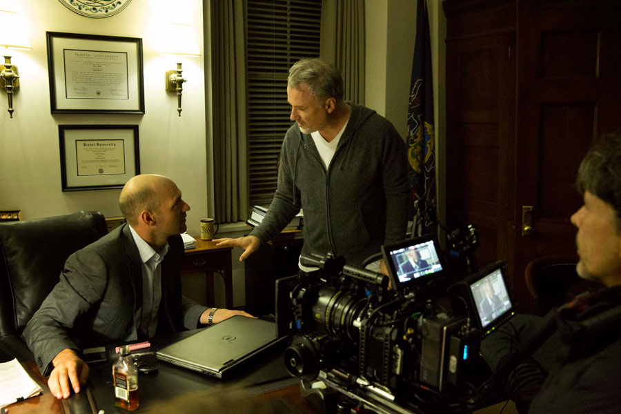 David Fincher et Epic sur le plateau de House of cards