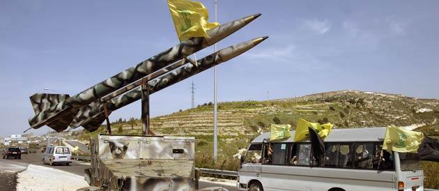 Missiles sur le bord de la route sud